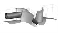 Simulation der Brennkammer%2dTurbinen%2dInteraktion