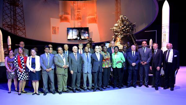 Der 10. Botschaftertag im Space Pavilion der ILA 2016