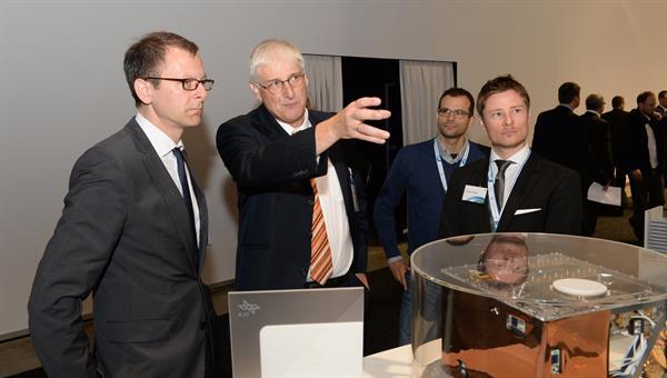 Martin Günthner zusammen mit Prof. Dittus