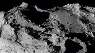 Imhotep%2dEbene auf dem größeren der beiden Teilkörper des Kometen