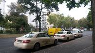Ein Taxi%2dFlottenversuch in Berlin