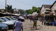 Markt in Lomé, Togo