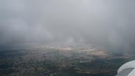 Trübe Wolkenschicht