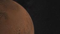 Die Landestelle von Schiaparelli, Landemodul der ESA%2dMission ExoMars 2016, auf dem Mars