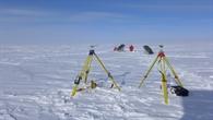 Vorbereitung auf dem Grönländischen Eisschild