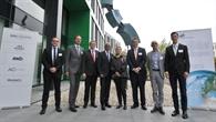 Einweihung eines neuen DLR-Gebäudes in Bonn