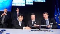 Vertragsunterzeichnung zwischen Spaceopal und der GSA