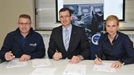 Unterzeichnung des Kooperationsabkommen zwischen DLR und I.S.A.R.