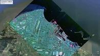 Radarbild von Cuxhaven