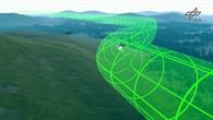 Automatischer Lufttransport größerer Frachten