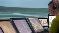 Virtueller Blick auf die Bahnen am Flughafen Zürich