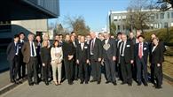 Gruppenfoto mit Vorstand
