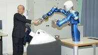 Handschlag mit Roboter