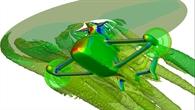 Computergestützte Strömungssimulation des RACER