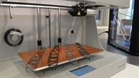 Flügelrippen im neuen 3D%2dDrucker