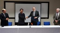 Unterzeichnung der Kooperationsvereinbarung im Bereich Luftverkehrsmanagement