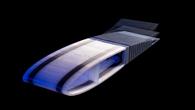 Gedruckte Formvariable Flügelhinterkannte