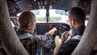 Blick ins Cockpit der Do 128 D%2dIBUF