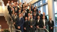 Teilnehmer des Sieger%2dSymposiums zur DLR/NASA%2dDesignChallenge.
