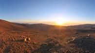 Atacama%2dWüste in Chile in der Nähe Cerro Paranal