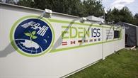 EDEN%2dISS%2dGewächshaus beim Probebetrieb in Bremen