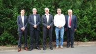 Treffen von Vertretern des DLR und SAP