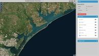 Überflutungsgebiet Corpus Christi vor Harvey