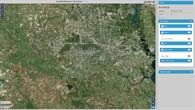 Überflutungsgebiet Houston vor Harvey
