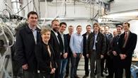 Projektteam vor dem neuen ICD%2dRig
