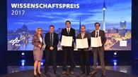 DLR%2dWissenschaftspreis 2017 an drei Strömungsforscher