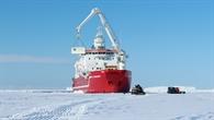 Entladung in der Antarktis