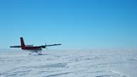DHC%2d6 Twin Otter Flugzeug auf dem Ross Schelfeis