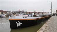 Die MS Jenny auf dem Main in Würzburg