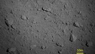 Nahaufnahme des Asteroiden Ryugu