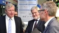 Erläuterungen zu Energiemanagementkonzepten während des Laborrundgangs.