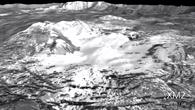 Animation: Überflug über den Krater Occator