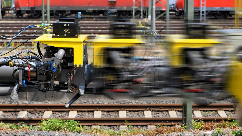Sichere Datenübertragung zwischen Zügen mit dem 5G-Mobilfunksystem