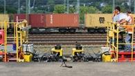 Dynamische Messungen am Bahnsteig