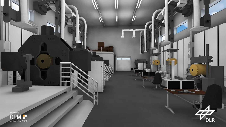 Digitalisierung der Luftfahrt: DLR-Institut für Test und Simulation für Gasturbinen in Augsburg eröffnet