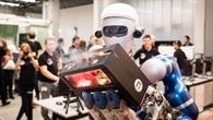 Gute Zusammenarbeit zwischen Gerst und Roboter METERON%2dSUPVIS%2dJustin