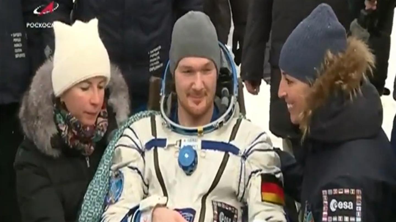 Alexander Gerst ist zurück auf der Erde