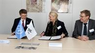 UN World Food Programme und DLR unterzeichnen Abkommen