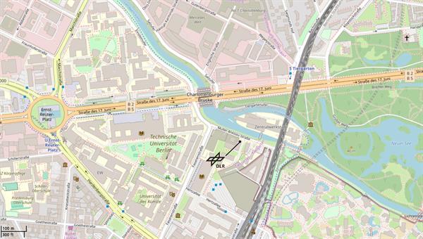 DLR%2dBetriebsstätte Berlin%2dCharlottenburg © OpenStreetMap%2dMitwirkende