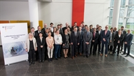 Das Team des Projektträgers Luftfahrt begrüßt Luft%2d und Raumfahrtkoordinator Jarzombek