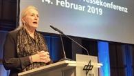 Prof. Ehrenfreund eröffnet die Pressekonferenz