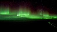 Polarlichter über der Arktis
