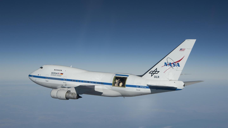 SOFIA zu Gast in Stuttgart - Erster Wissenschaftsflug über Europa