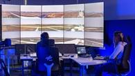 Simulationsversuche im DLR Remote Tower Lab in Braunschweig