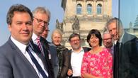 Bundestagsabgeordnete von CDU/CSU mit Prof. Ehrenfreund und Prof. Lemmer