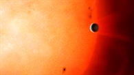 NGTS-4b - der erste Planet in der Neptun-Wüste (künstlerische Darstellung)